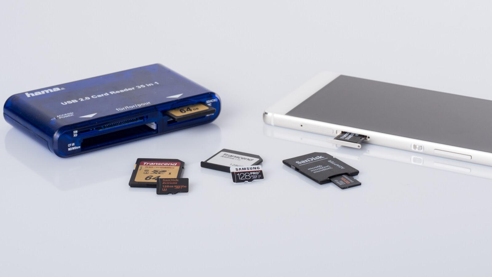 Micro-SD-Karten im Test: 5 Speichererweiterungen im