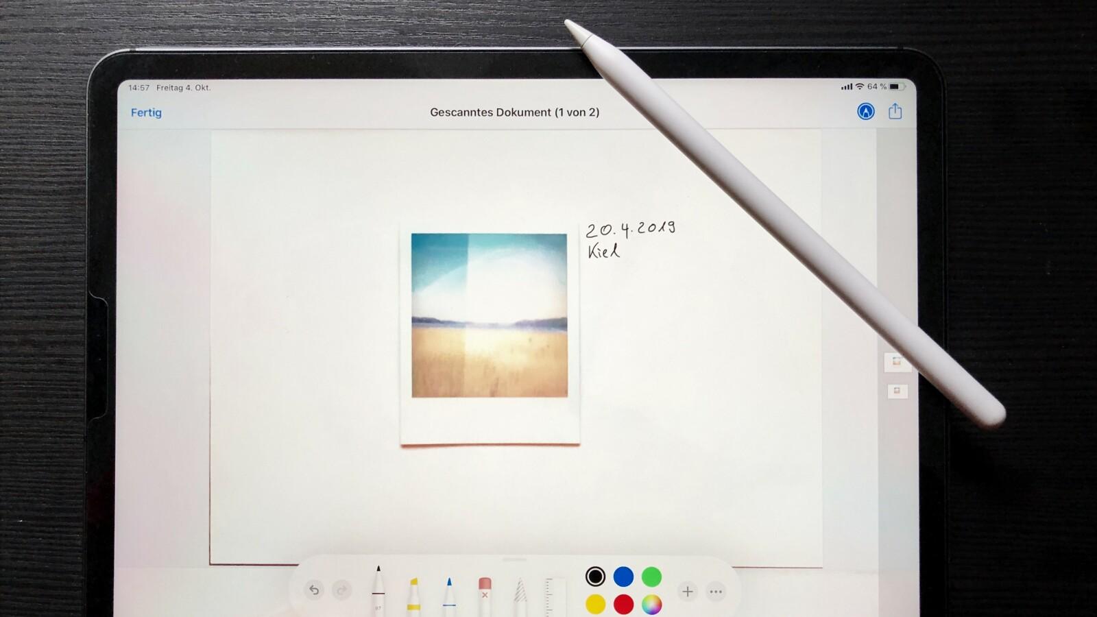 Apple iOS: So scannt und unterschreibt ihr Dokumente mit dem iPhone