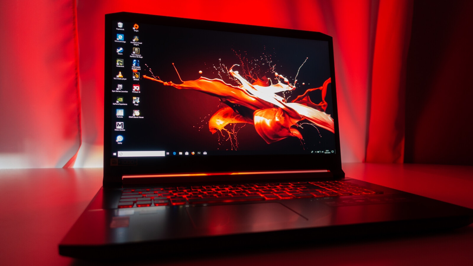 Acer Nitro 5 in the test: A strong playable laptop for beginners