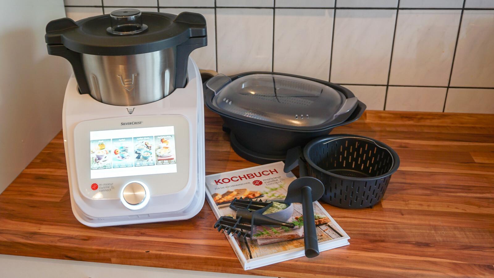 Monsieur Cuisine Connect Under Test Cheap Lidl Food Processor
