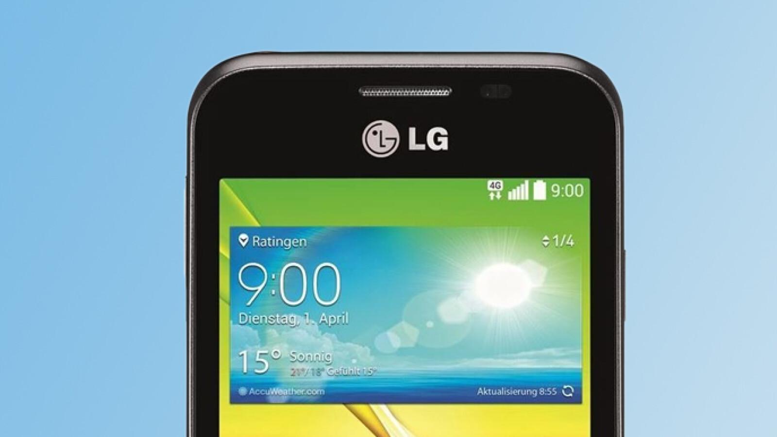 LG L40 Im Test 89 Euro Smartphone Mit KitKat Und G2