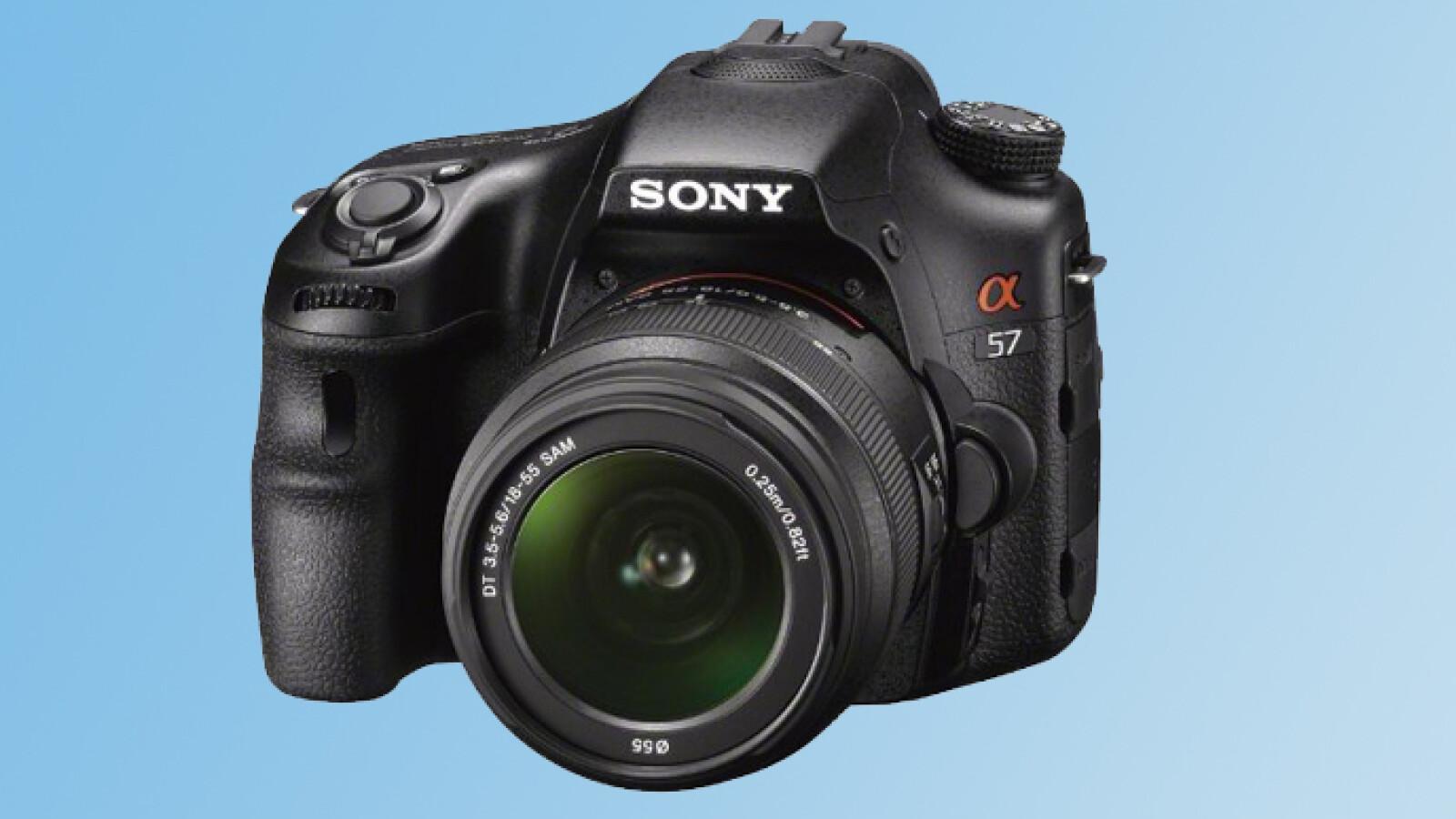Sony Alpha SLT-A57 im Test - NETZWELT