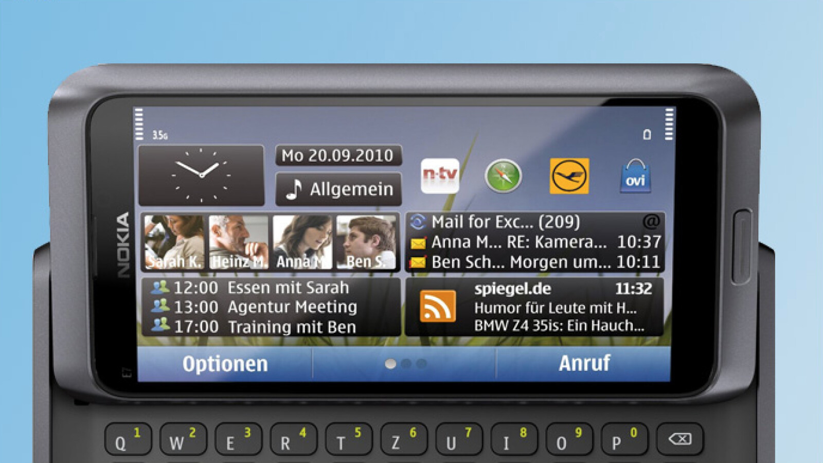 Nokia E7 Im Test Gelungener Multimedia Slider Netzwelt 130 Kamera New