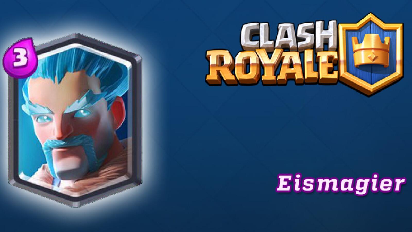 clash royale  eismagier