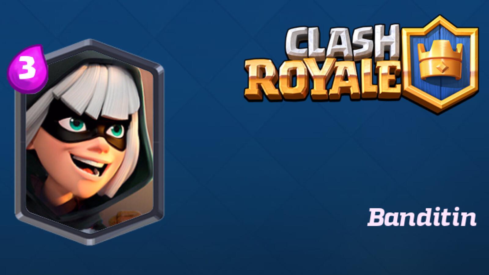 Clash Royale: Banditin - Infos, Ausbaustufen und Tipps