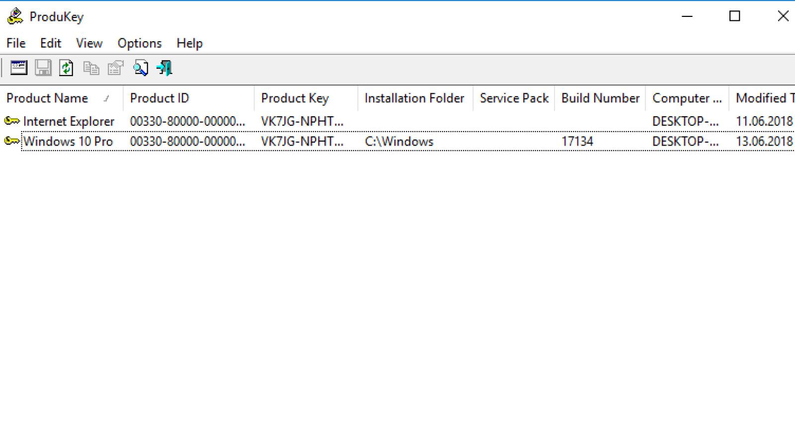 ProduKey - Download - NETZWELT