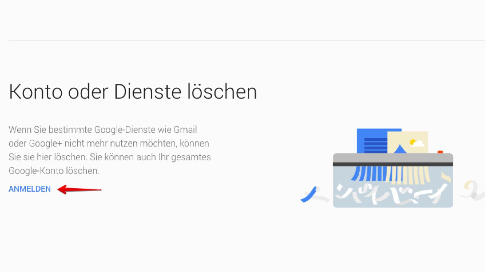 Google Plus Konto Wird Gelöscht