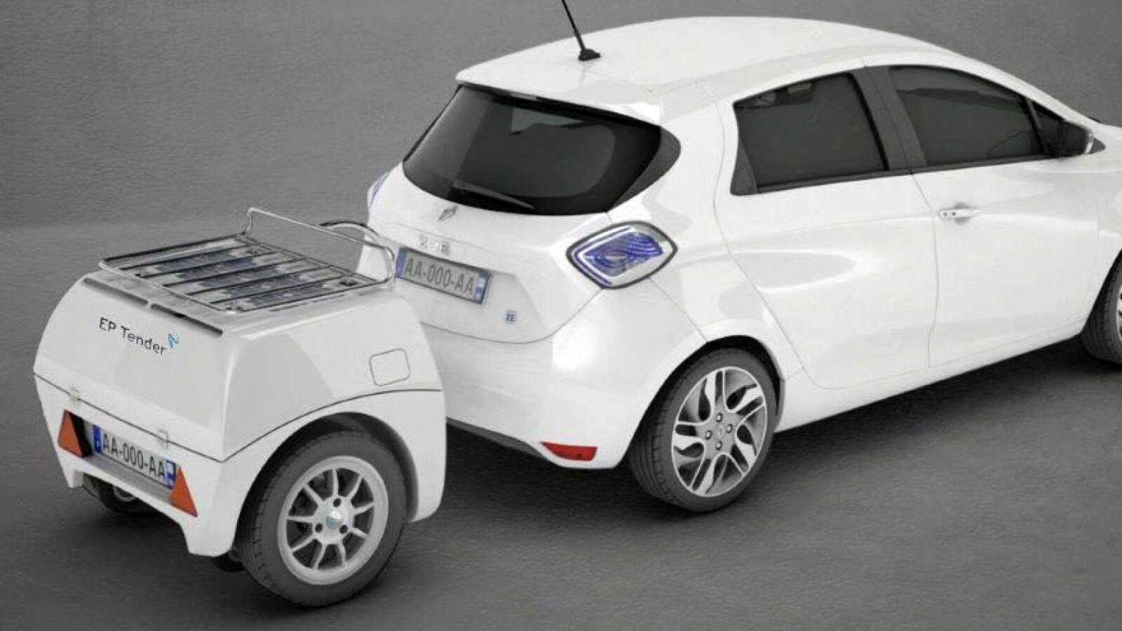 Französischer Anhänger-Trick: Elektroautos in einer Minute voll laden