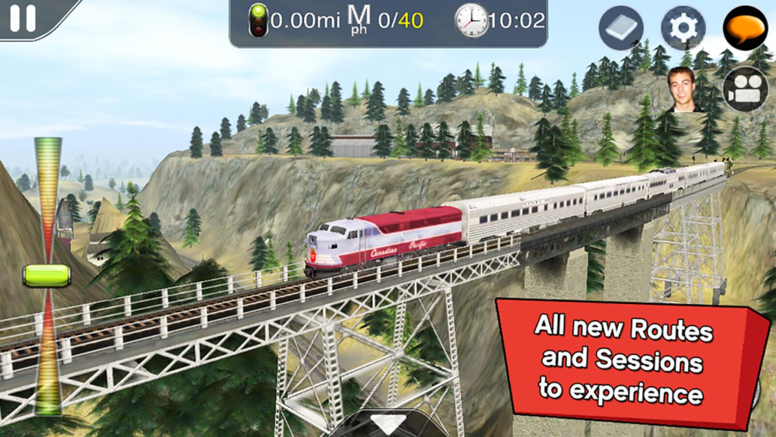 """Kostenlos für iOS: """"Trainz Driver 2"""" gibt es kostenlos"""