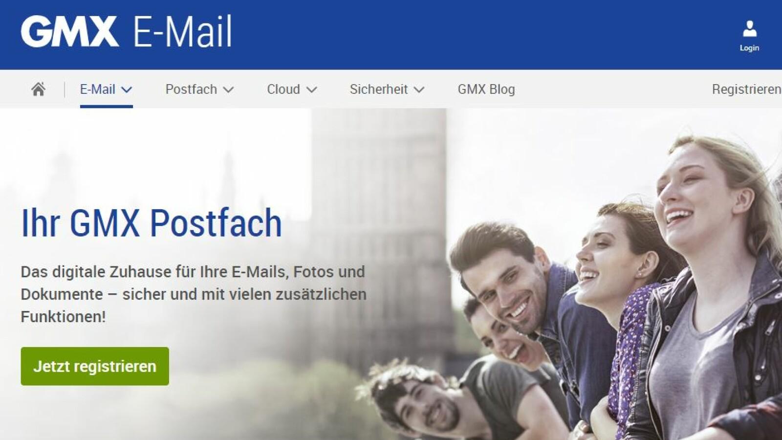 Mein gmx postfach login Gmx .de