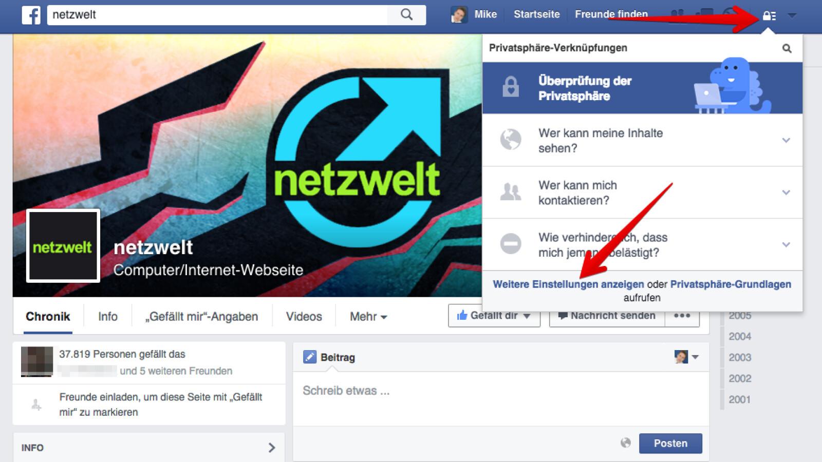 Facebook Telefonnummer Anzeigen