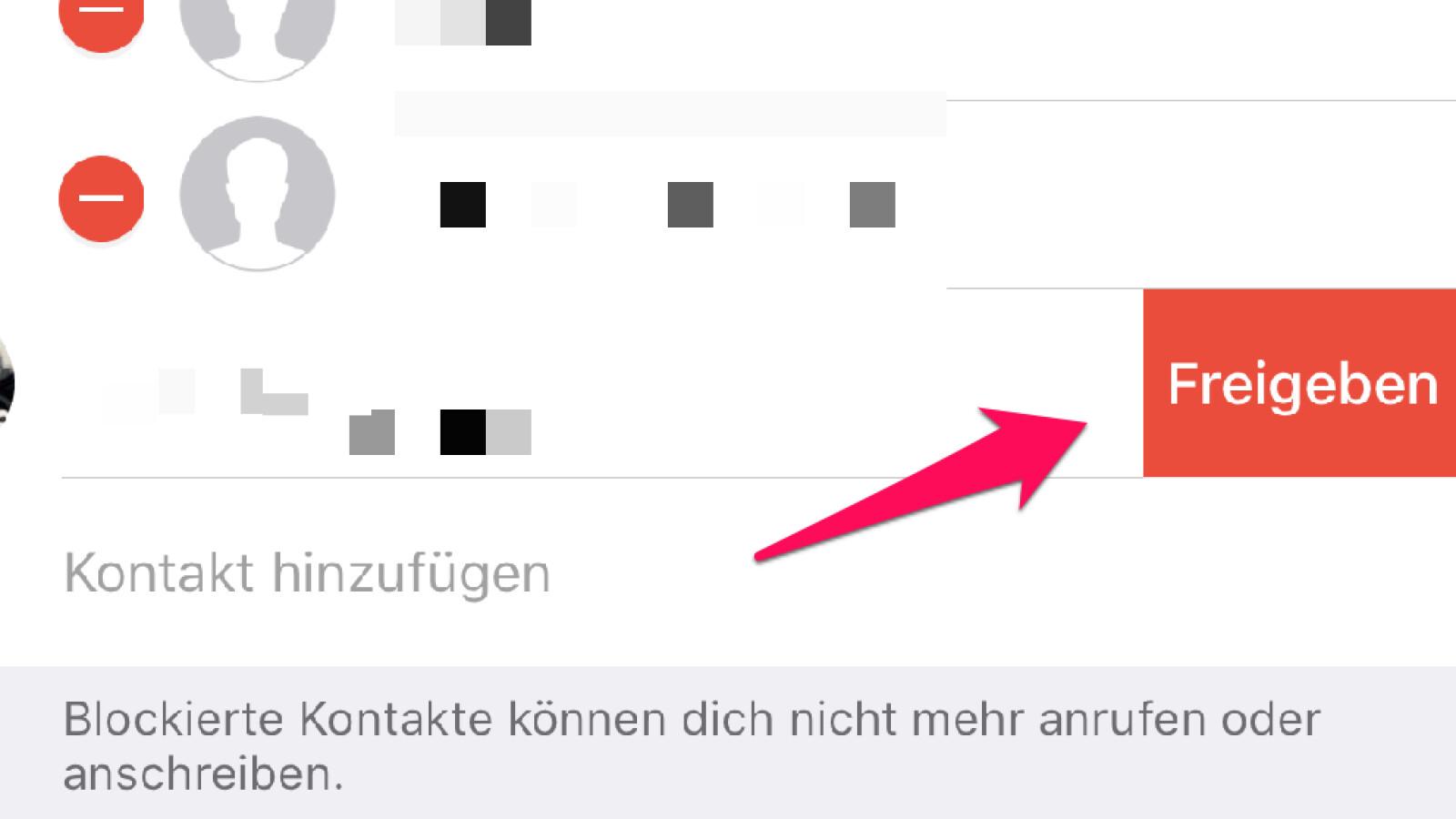 Blockierte kontakte whatsapp uninroneck: Whatsapp