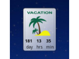 Icon: Urlaubs / Holiday Countdown