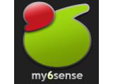 Icon: my6sense: Smart Social & News