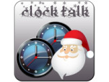 Icon: Clock Talk Merry Christmas