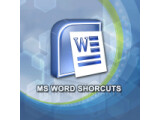 Icon: MS Word Shortcuts