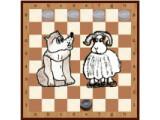 Icon: Wolf und Schafe (Brettspiel)