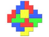 Icon: Colored Bricks