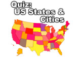 Icon: Quiz: Cities and States (USA)