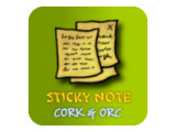 Icon: Sticky Note Cork&Orc