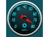 Icon: Gps Speedometer