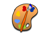 Icon: Palette Painter (Honeycomb)