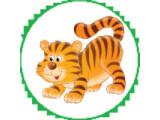 Icon: Tiger im Käfig