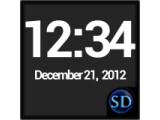 Icon: SD DigiClock Widget