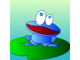 Icon: Blue Frog