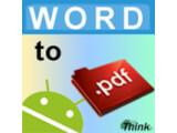 Icon: Word To PDF (doc, docx)
