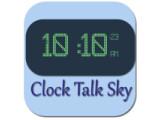 Icon: Clock Talk Sky