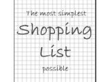 Icon: Paper Shopping List