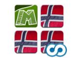 Icon: app²memo triplet - Norwegen