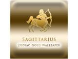 Icon: Sagittarius Zodiac Gold WP
