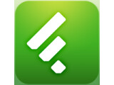 Icon: Feedly. Google Reader News RSS