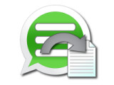 Icon: Backup Text for WhatsApp