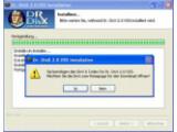 Bild: Ist der DivX-Codec nicht installiert, öffnet sich nach der Installation die Seite zum Download