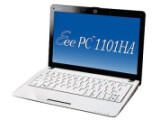 Bild: Asus EeePC 1101HA: Das Notebook ist mit Intel Atoms der Z-Serie ausgestattet.