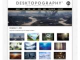 """Bild: Das Projekt """"Desktopography"""" vereint kostenlose Design-Hintergründe zur Verschönerung des Computer-Bildschirms."""