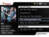 Bild: Mit der 7digital App kann der Musikinteressierte auch auf dem Blackberry Musik kaufen und anhören.