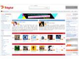 Bild: Startseite des 7digital-Musikportals