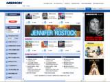 Bild: Startseite zum Medion Musikportal
