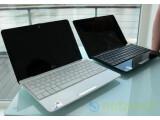 Bild: Asus EeePC 1008HA Seashell: Netbook im Muscheldesign in Schwarz oder Weiß.
