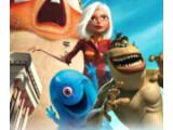 Bild: Aufmarsch der 3D-Monster: Gigantika und ihre Freunde gehen auf Alienjagd .