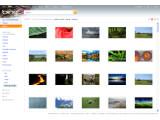 Bild: Hintergrundbilder lassen sich mit Bing durch die Seitenleiste der Bildsuche filtern.