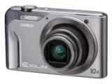 Bild: Casio Exilim EX-H10: Laut Hersteller die derzeit schmalste und leichteste kompakte Digitalkamera mit zehnfachem Zoom.