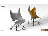"""Bild: OMC-Spielersessel:  Speziell für professionelle Spieler ist der """"Gaming Chair"""" gedacht."""