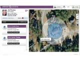 Bild: So sieht die Online-Ansicht der Schutzzone aus.