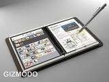 """Bild: Angebliches Microsoft-Tablet """"Courier"""": Viel versprechendes Konzept mit ansprechendem Design."""