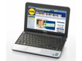 Bild: Dell Mini 10v: Die Tastatur nutzt die gesamte zur Verfügung stehende Breite des Netbooks.